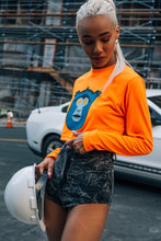 Load image into Gallery viewer, Embleu™️ 3M Neon crop tee