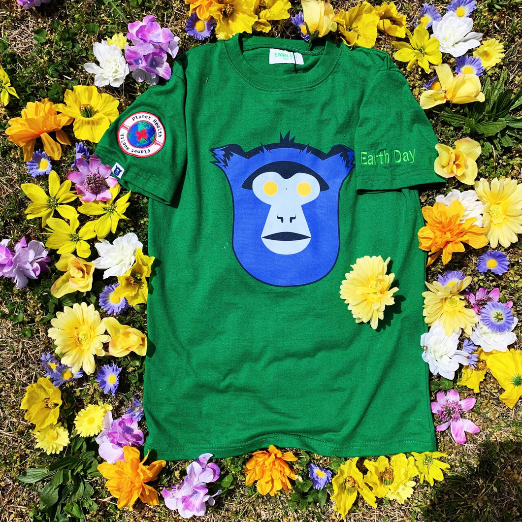 Embleu™️ Logo/Earth Day tee
