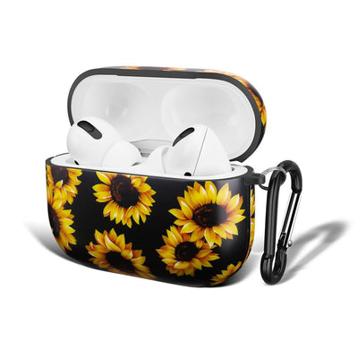 New arrival TPU Case for Apple AirPods Pro 2020 Shockproof Protective Cover for AirPods 3 - Beautiful Sunflower - Only Sunflowers