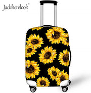 Jackherelook Sunflower Travel Suitcase Protective Cover Luggage Dustproof Bag Cover Baggage Waterproof Cover Accessories - Only Sunflowers