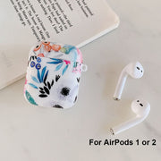 Sunflower Earphone Case For AirPods 2 1 Cases Cute Soft Silicone Flower Charging Box Protective Cover for AirPod Air Pods 2 Case - Only Sunflowers