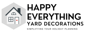 Happy Everything Yard Decorations