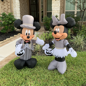 Mickey & Minnie Halloween Set