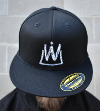 Load image into Gallery viewer, Warp Kings Flat Brim 210 Fitted Hat