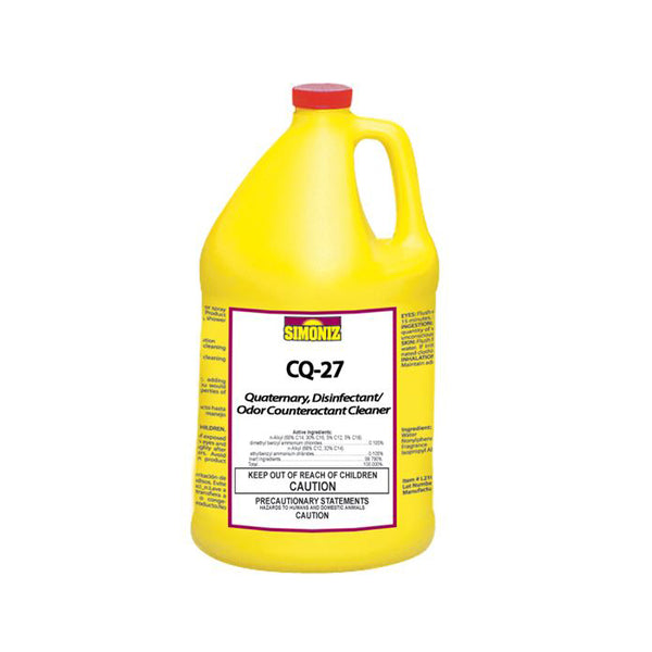 2901-2 CQ-27 Citrus Quat Disinfectant, 4gal/cs