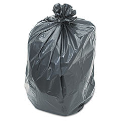 4062 38x58 1.5 BLACK 100/cs Trash Bags