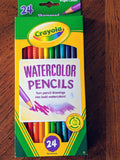 Watercolor Pencils 24 Count