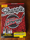 Sharpie Be Bold Lettering Kit