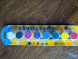 Acrylic Paint in 8 colors