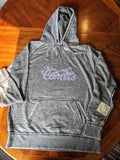 Comets Grey Unisex Vintage Hooded Sweatshirt