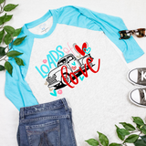 Loads of Love - Kids 3/4 Sleeve Raglan