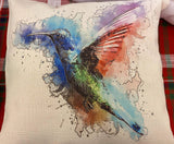 Hummingbird - Pillow Cover