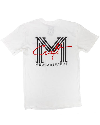Craft White Tee