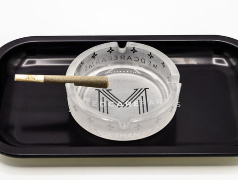 ROLLING TRAY WITH MEDCARE LOGO