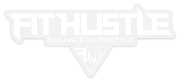 """Balance X Lifestyle"" - Fit Hustle Window Decal"
