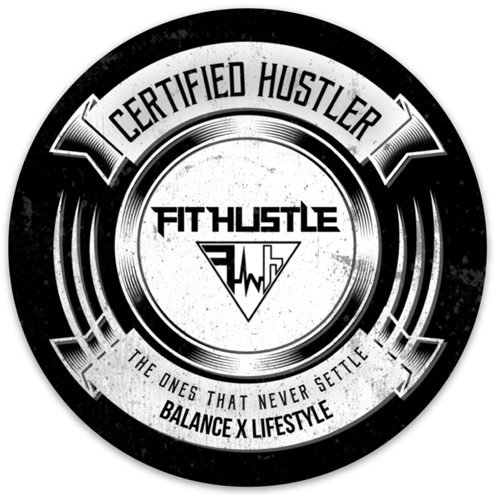 Certified Hustler Sticker/Decal