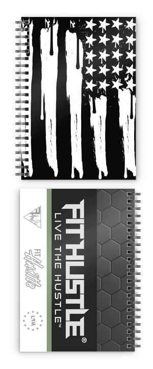 UNITED WE HUSTLE™ FLAG DRIP Notebook (Set of 2)