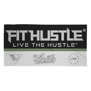 FIT HUSTLE™ Beach Towel