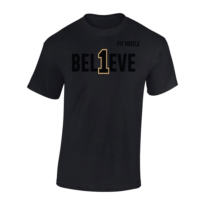 BEL1EVE Tee - Lil Monstar Edition - Black/Gold Edition