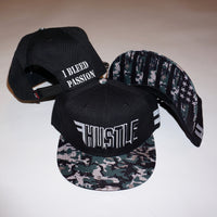 """I Bleed Passion™"" Camo Flag Hat"