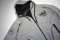GrafSPLASH Performance Hoodie - Heather Grey