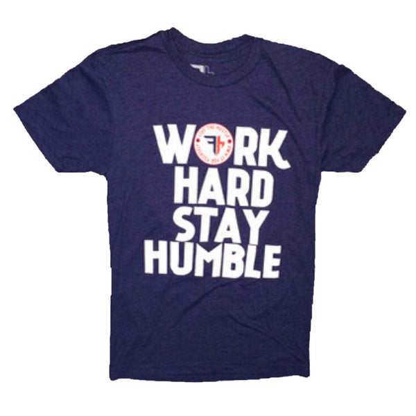 Storm color WORK HARD STAY HUMBLE T-Shirt