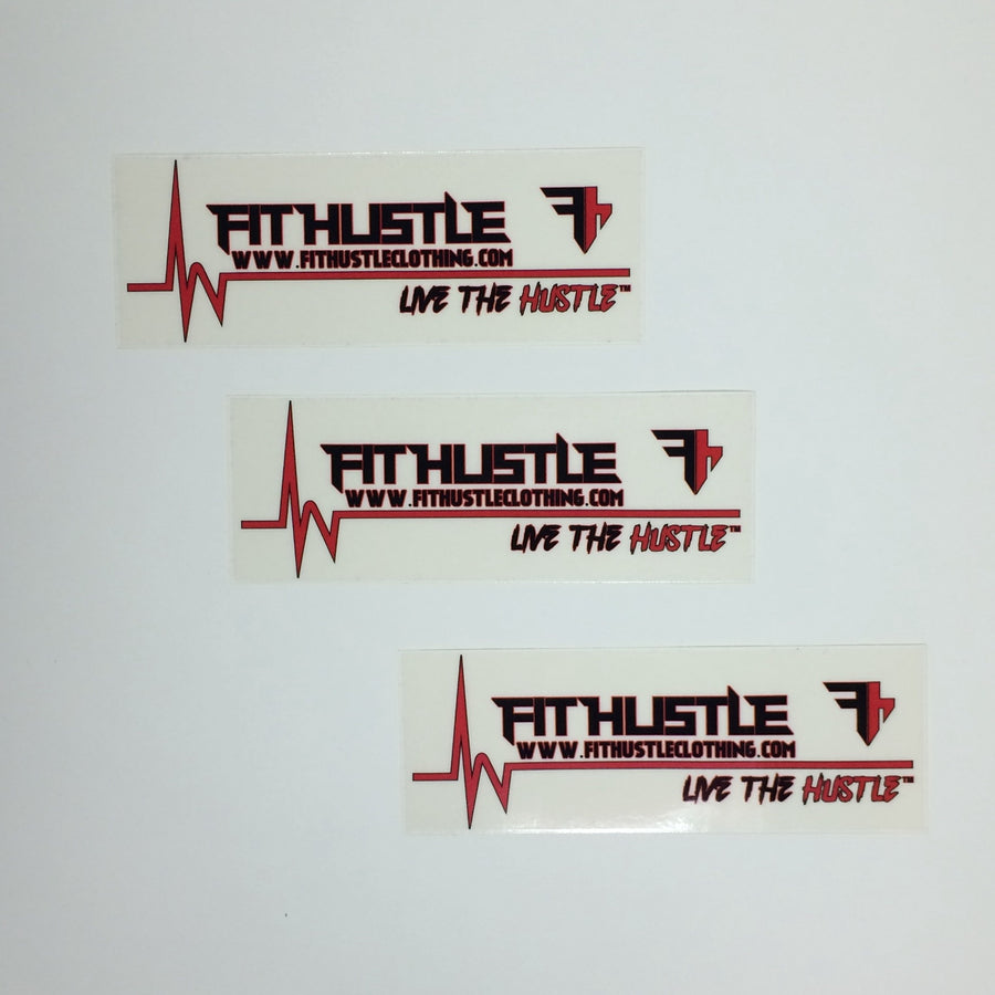 FIT HUSTLE - LIVE THE HUSTLE™ Stickers