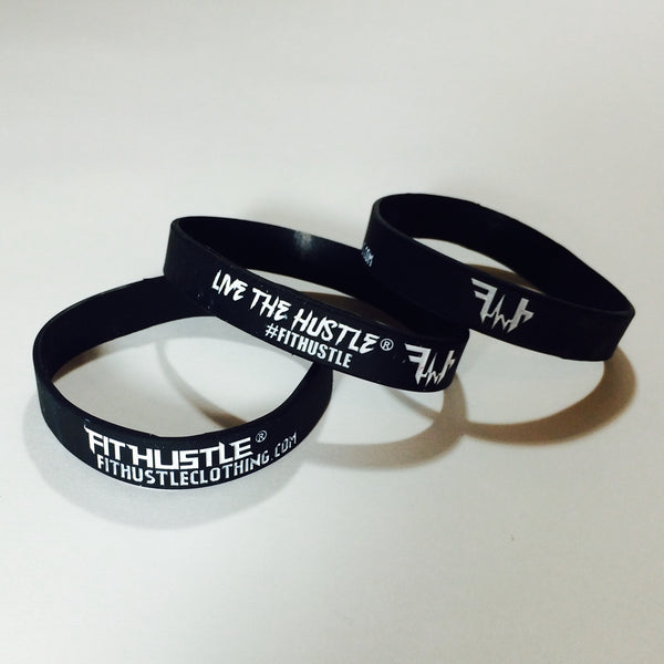 FIT HUSTLE - LIVE THE HUSTLE Wristbands