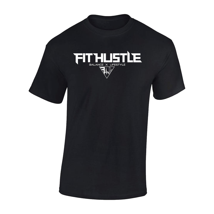 Team 'Just Hustle' Shirt - Black