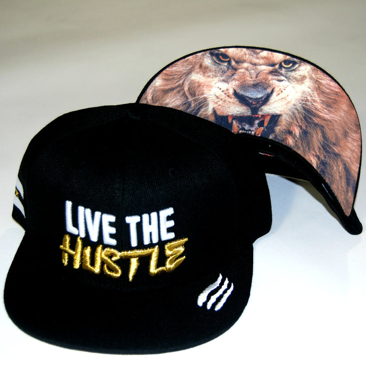 Live The Hustle Lion Hat