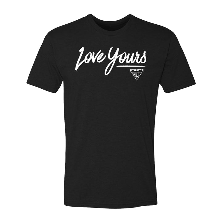 'Love Yours' - Black Tee