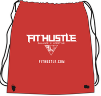 """Balance X Lifestyle"" - Fit Hustle Drawstring Bags 2.0 Red"