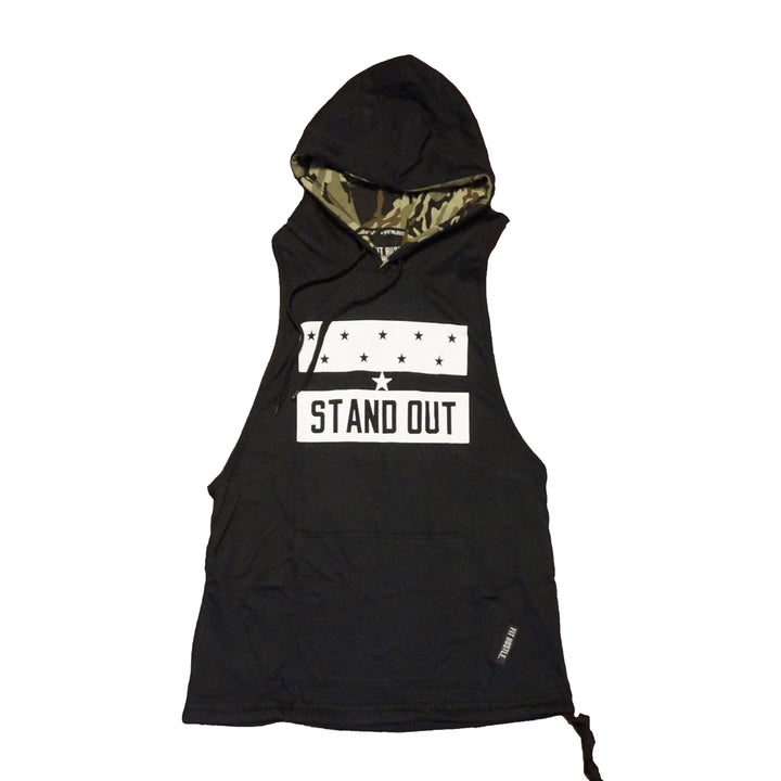 "Green Camo ""Stand Out"" Stringer Hoodie 2.0"