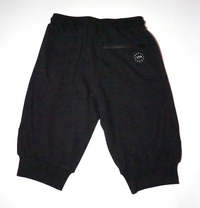 GrafSPLASH Men's High Performance Jogger Capris - Black