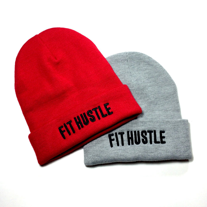 """Fit Hustle"" Beanies"