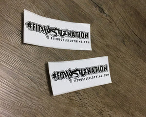 #FitHustleNation Decals