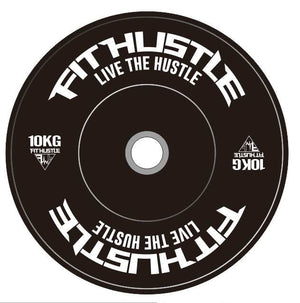 Fit Hustle Eco Bumper Plates
