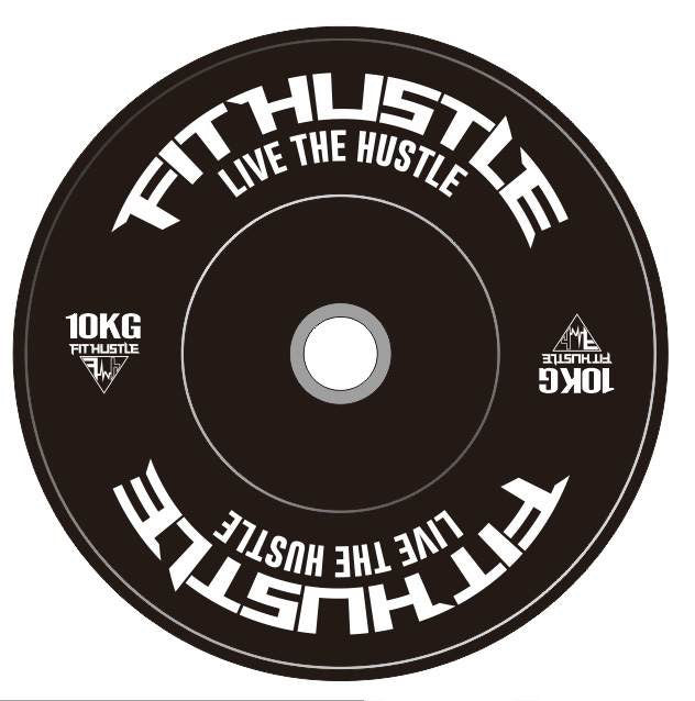 Fit Hustle Eco Bumper Weight Plates