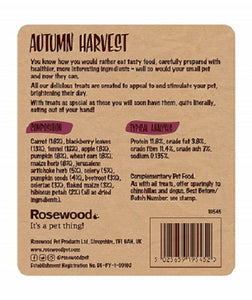 Autumn Harvest product information.