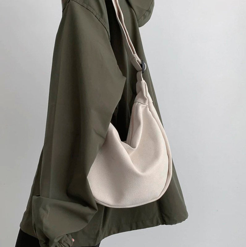 Canvas Hobo Bag B172