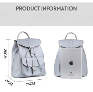 Women Drawstring Retro Backpack B314