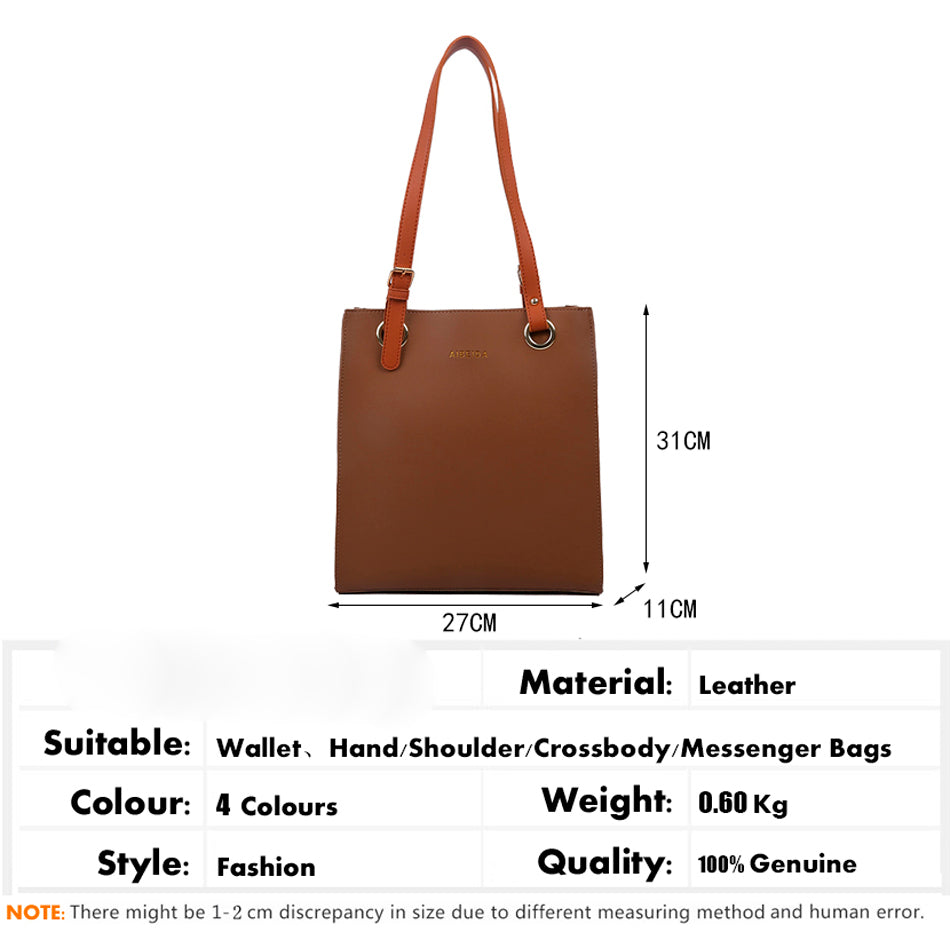 Elegant Large Capacity Women Shoulder Bag B472