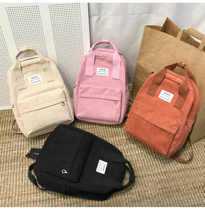 Fashion Canvas Backpack B318