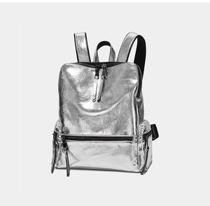 Fashion Shiny Women Backpack B312