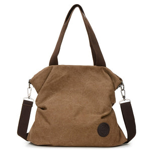 Women Canvas Shopper Bag B104