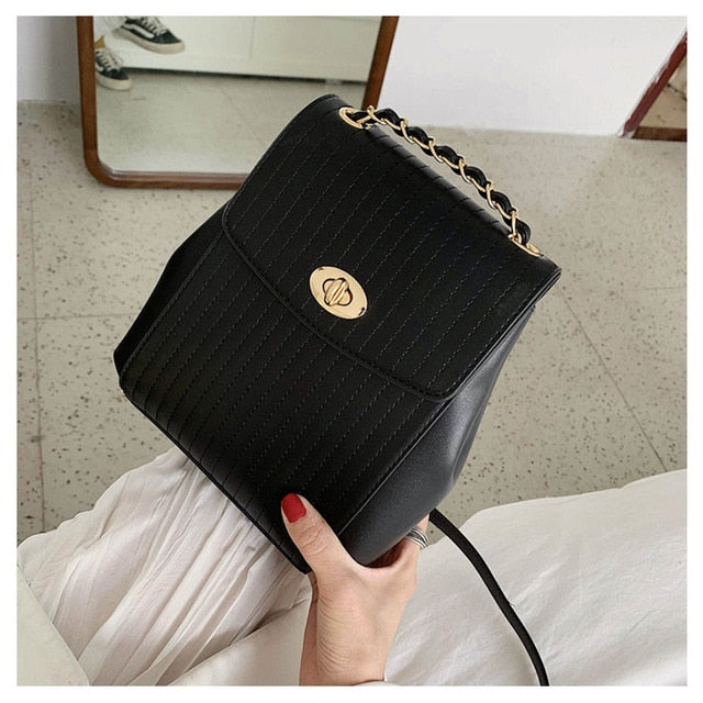 Luxury Chain Women Backpack B302