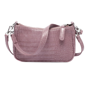 Crocodile Pattern PU Leather Shoulder Bag B432