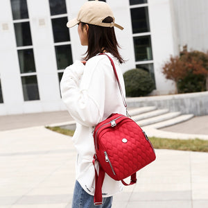 Luxury Lady Backpack Oxford Cloth B305