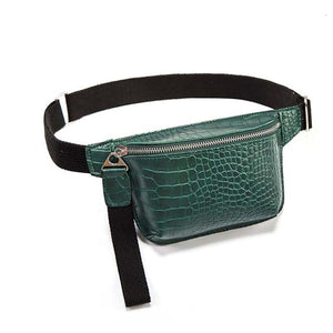 Women Crocodile Waist Pack B212