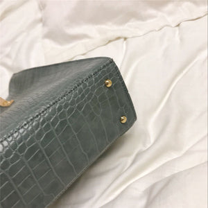 Luxury Crocodile Shoulder Bag B474